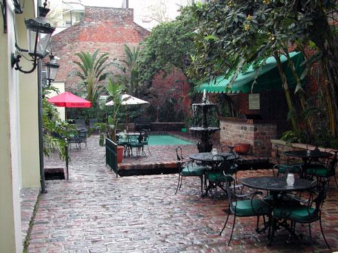 Ann's courtyard